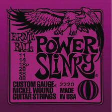 Ernie Ball 2220 Nickel Power Slinky Electric Guitar Strings Gauge 11-48