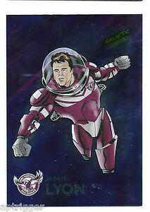 2014 NRL Traders Galactic Stars (GS7) Jamie LYON Sea Eagles