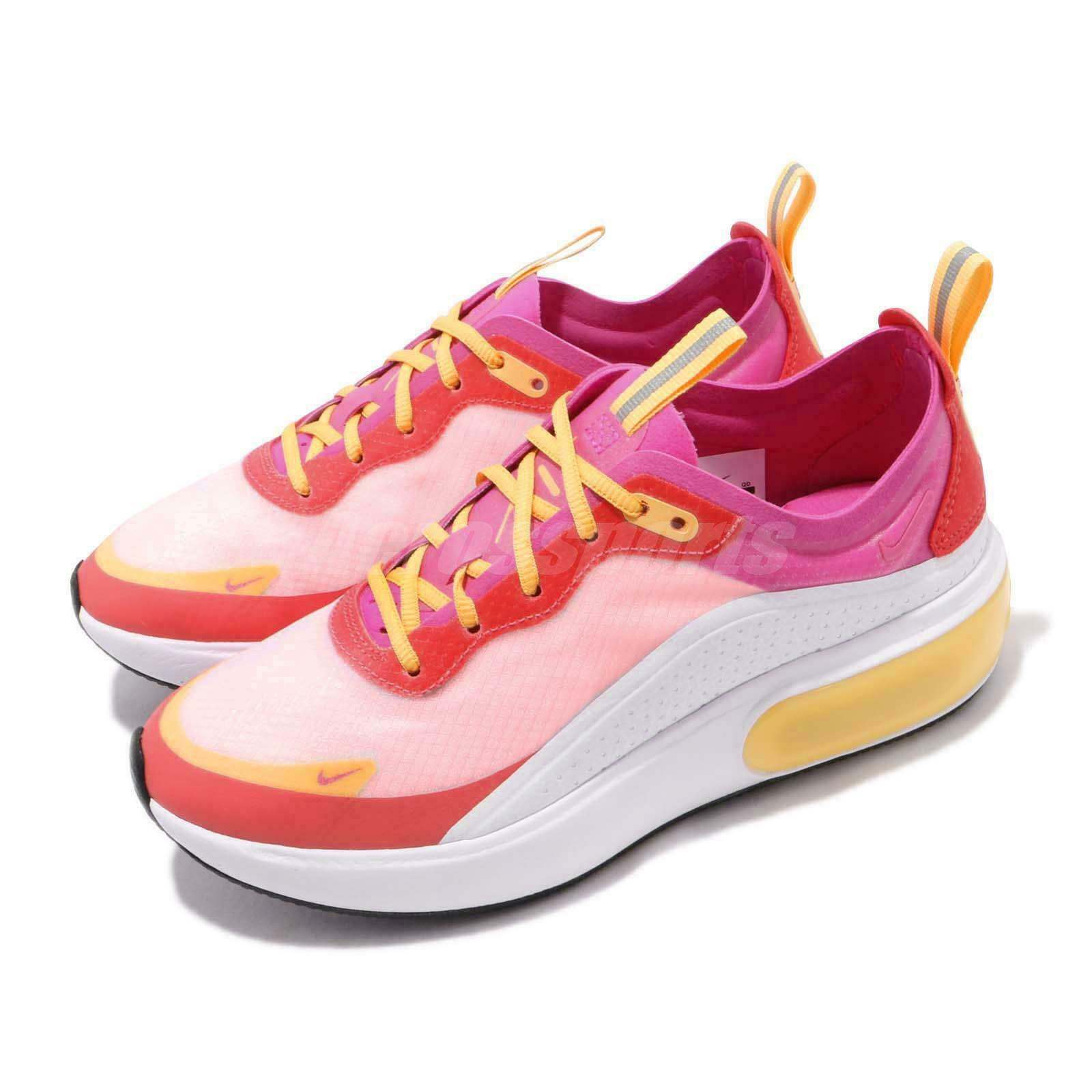 Nike Wmns Air Max Dia SE bianca Laser Fuchsia Ember Gbasso donna sautope AR740-102