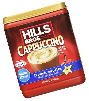 Hills Bros. Instant Cappuccino Mix, Sugar-Free French ...