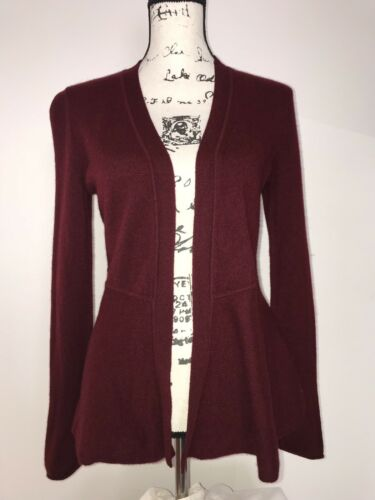 m Charter Sweater Club 100 Cardigan front Åben P Masy's Magenta Cashmere Midje ad1q1wP