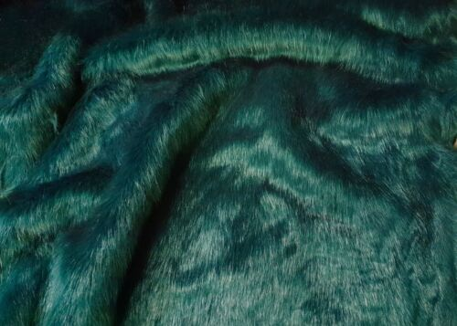 Webpelz pelo largo acogedor piel sintética fell sustancia petrolgrün decorativas alfombra nb7002