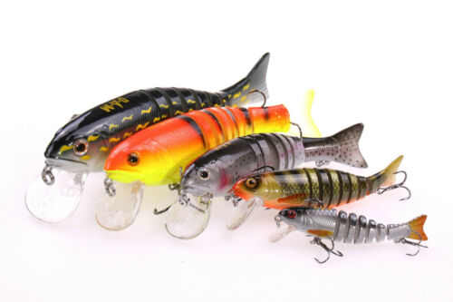 Größe /& Farbe wählbar DAM EFFZETT Viper Swimbait Wobbler