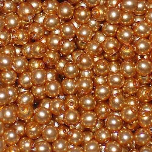 Rundperlen Roundbeads Glasperlen rund round beads 3 mm 50 Stück