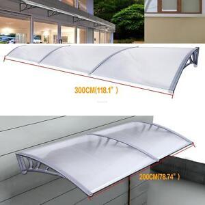 1x2m 1x3m auvent de porte store marquise solaire abri banne entr e ombre jardin ebay. Black Bedroom Furniture Sets. Home Design Ideas