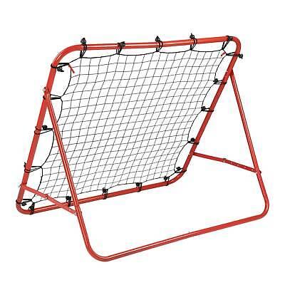 Football Pro Rebounder Net Training Adjustable Kickback Soccer Goal Universal/_UK