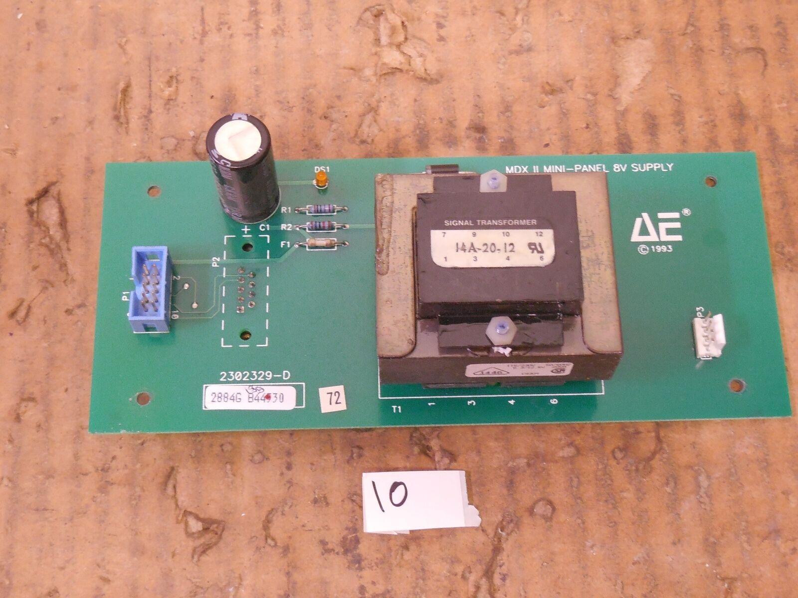 AE ADVANCED ENERGY MDX II MINI-PANEL 8V SUPPLY BOARD 2302329-D