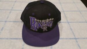 619d9072ef2 Vintage Colorado Rockies The Game Hat Deadstock 90 s Fitted 7 3 8 ...