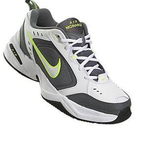 NIB Men's Nike Air Monarch 4 Running Shoes Dart Torch Medium Width Dynasty WhG