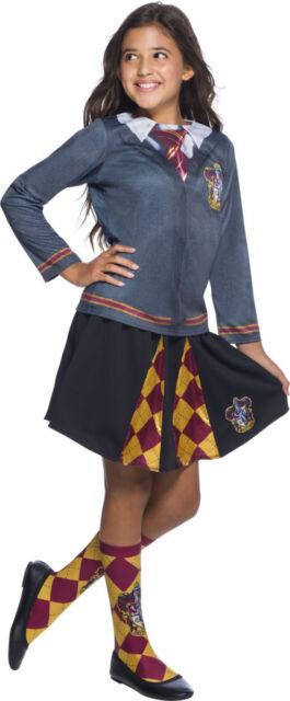 Rubies Harry Potter Gryffindor Uniform Shirt Top Kids Halloween Costume 641269