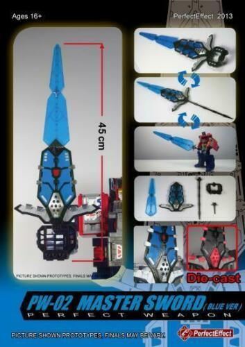 Perfect Effect PW-02 PW02 MASTER SWORD BLUE VER MISB IN STOCK