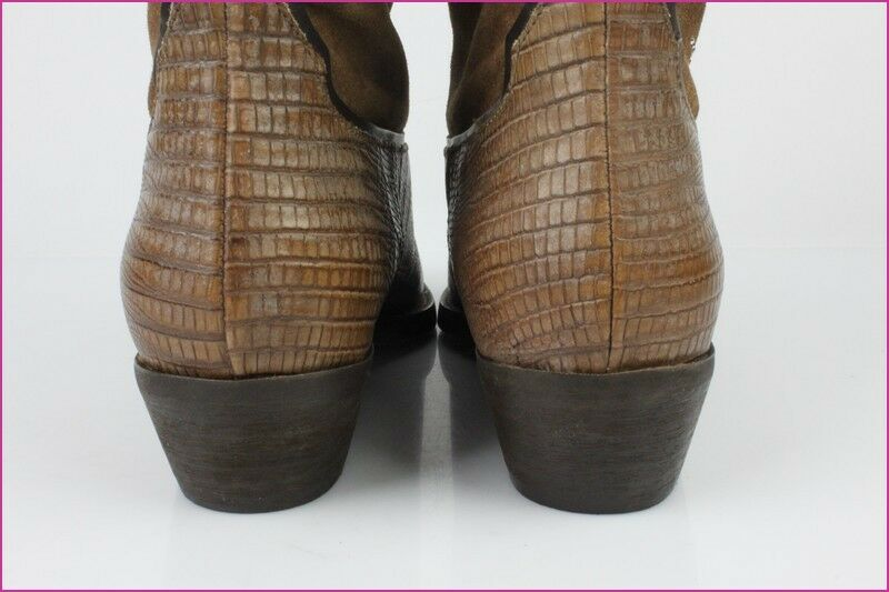 Boots FRUIT FRUI.T All Brown Leather T 39 39 39 IT   40 FR NEW CONDITION ee380b