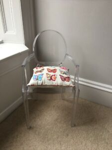 Image Is Loading Kids Kartell Style Ghost Chair