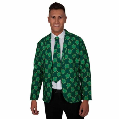 National Jacket /& Tie Mens Fancy Dress British Irish Adults Costume Accessories