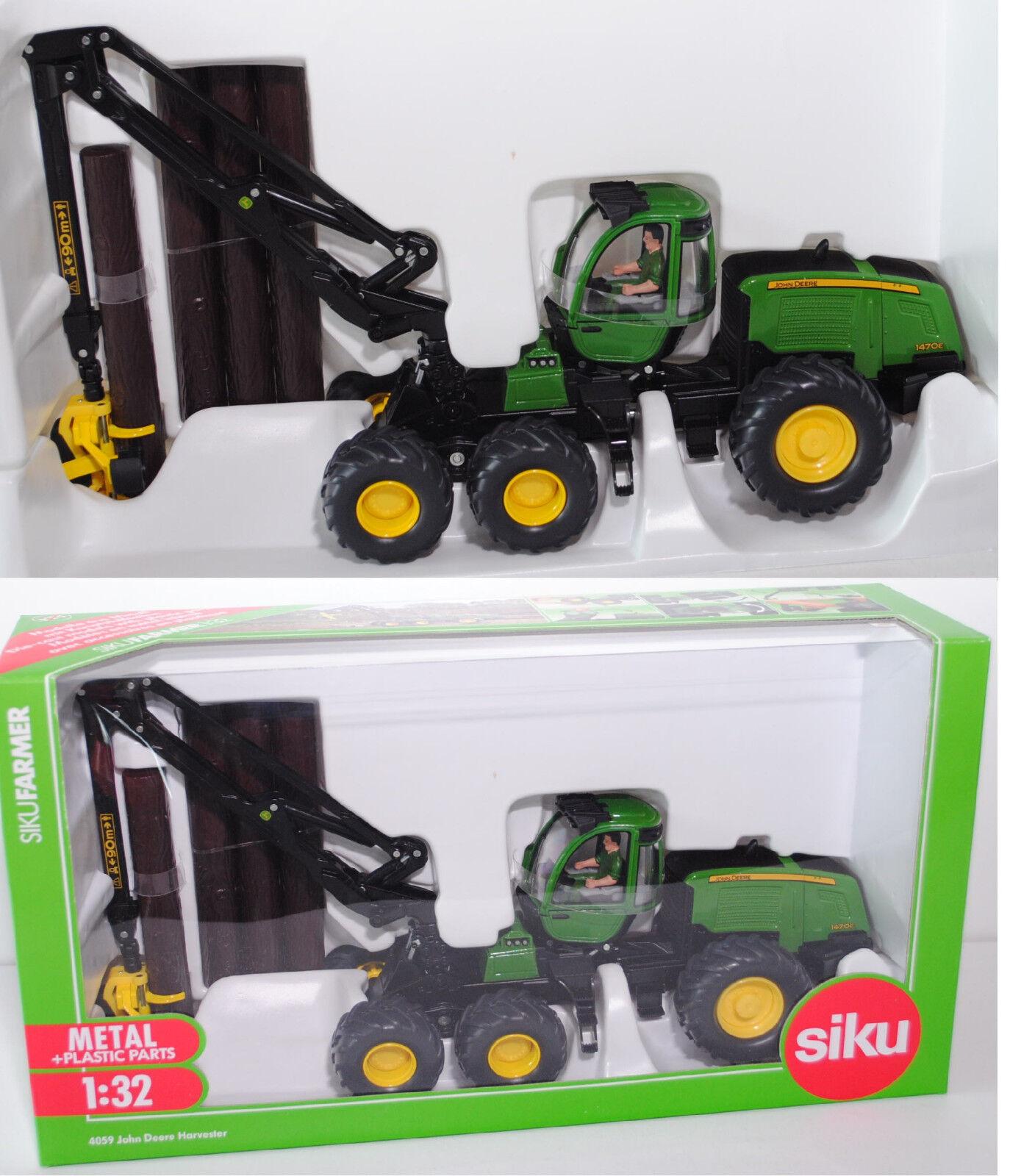 SIKU FARMER 4059 John Deere moissonneuse  1470e, 1 32, NEUF dans sa boîte  choisissez votre préférée