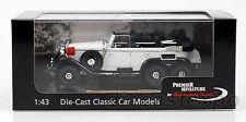 1938 Mercedes Benz G4 1:43 Scale (White)