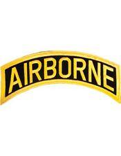 "N-006 Airborne Tab Gold on Black 12"""