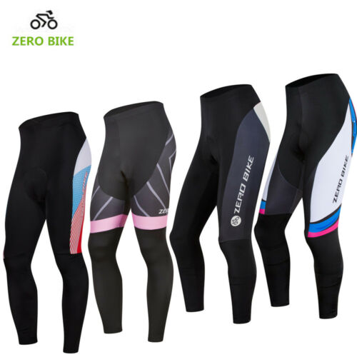 Damen Fahrradhose lang Radsport Sport Hose Fitness Radlerhose Gr S-L 8 Farben