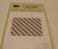 Stampin Up Stylish Stripes Embossing Folder (new & Sealed)