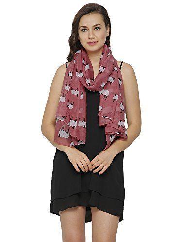 Design Stampa Pecora Sciarpe Per Donna Leggero Sciarpa di grandi dimensioni
