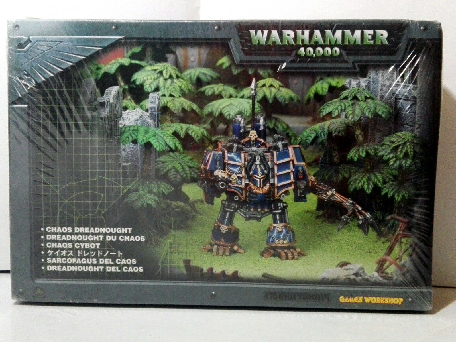 CHAOS DREADNOUGHT - Warhammer 40.000 - Unopened (White metal) - Hellbrute