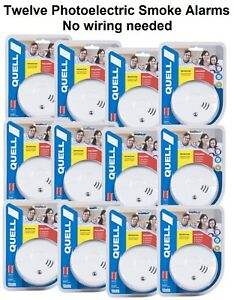 Excellent 12 X Quell Photoelectric Smoke Alarms 10Yr Warranty Bulk Buy Keep Wiring Digital Resources Indicompassionincorg