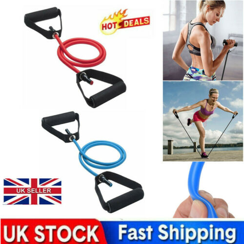 Yoga Exercise Resistance Bands Tension-Rope With Handles Home Fitness Training