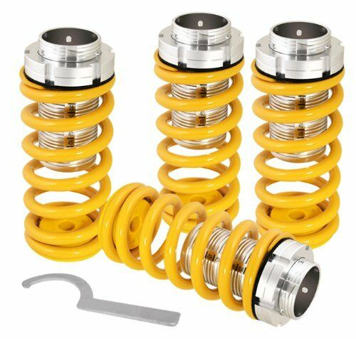 96 97 98 99 00 HONDA CIVIC LX DX EX SCALED COILOVER YELLOW COIL SPRINGS LOWERING