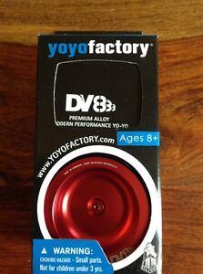 BRAND-NEW-YoYoFactory-DV888-YoYo-Yo-yo-Red