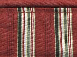 Longaberger 05 Garland Basket Holiday Stripe Liner NIP