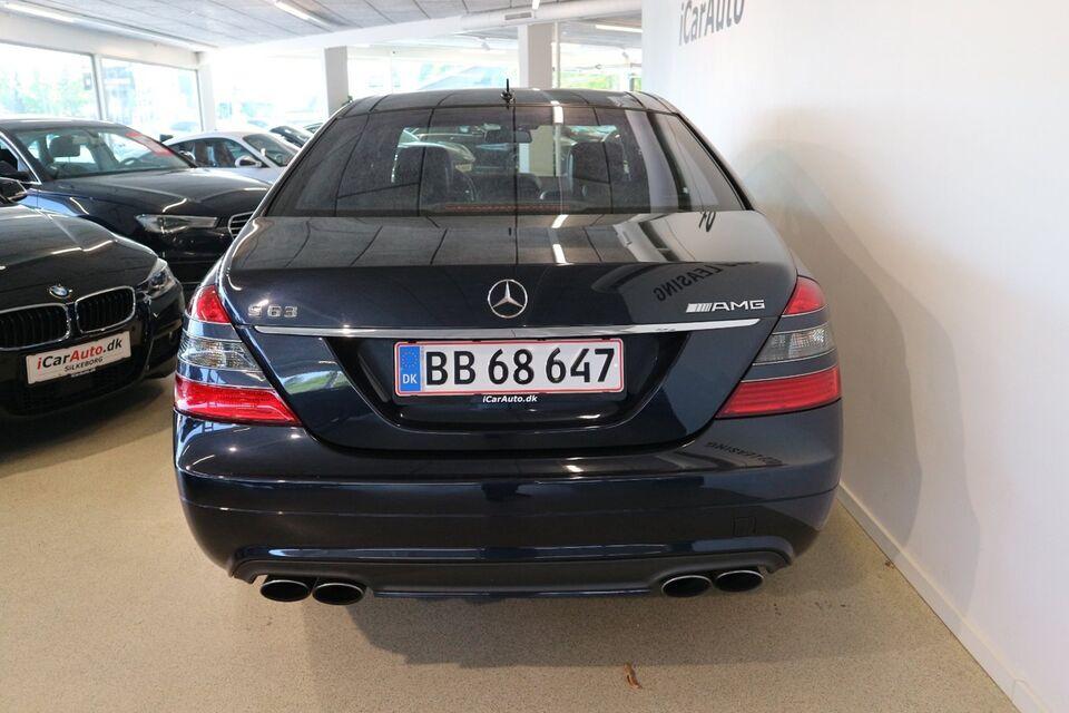 Mercedes S63 6,3 AMG aut. lang Benzin aut. modelår 2009 km