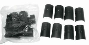 "50 Packs Metro/Others Clips Split Sleeves for 1"" Pole Free Shipping USA Only"