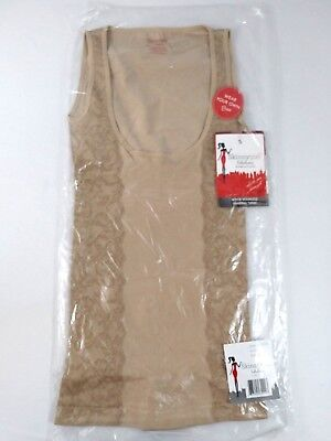 Women's Clothing Objective Skinnygirl Womens Wyob Seamless Shaping Tunic 7370 Size S Beige A Great Variety Of Goods
