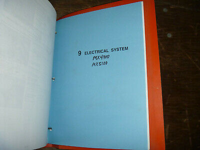 [QMVU_8575]  Kubota MX4700 MX5100 Tractor Electrical Wiring Diagram Manual | eBay | Kubota Mx5100 Wiring Diagram |  | eBay