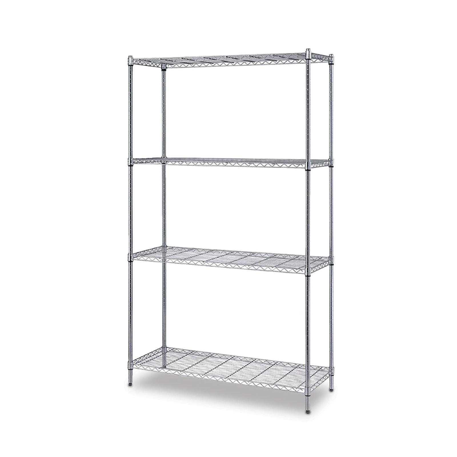 One Box Wire Shelving 4 Shelf Unit 24 D X 72 H 30 W 1 Ea