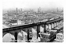 pt4517 - Widnes , West Bank Viaduct , Lancashire - photo 6x4