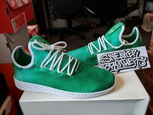 0117e2eeb Adidas x Originals PW Tennis Hu Holi Pharrell Williams Bright Green ...