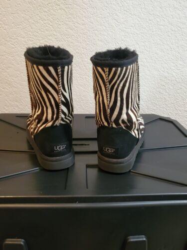 Ugg Zebra Boots SIZE 7