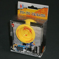 YOYO Yellow Butterfly with Metal Bearing Plastic by AODA from Grannykool