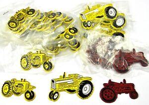 Set-Konvolut-20-Magnete-USA-Kuhlschrankmagnete-Oldtimer-Traktoren-Farm-Bauernhof
