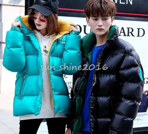 Warm Parka Outwear Trench Women Winter Down Coat Overcoat Thicken Bright Jacket qxtvH