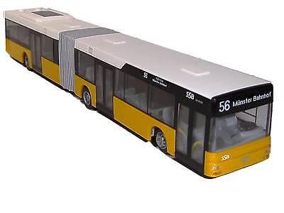 Model Building Toys, Hobbies Trustful Rietze Man A23 Articulated Bus Ssb Stuttgart Line 56 Münster Railway Station