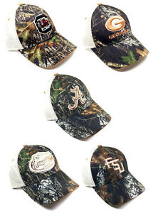 ee5509de NCAA AUDIBLE MOSSY OAK CAMO MESH TRUCKER SNAPBACK HAT CAP ADJUSTABLE ...