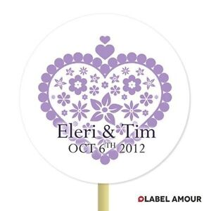 20-PERSONALISED-Cup-Cake-Toppers-Wedding-Heart-Cupcake-Decoration-005