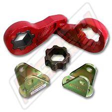 "2.5"" Front Torsion Key Leveling Lift Kit 1999-2010 Silverado Sierra 2500 3500"
