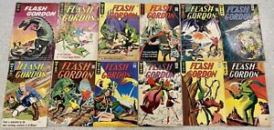 KING-GOLD-KEY-FLASH-GORDON-12x-COMIC-BOOK-LOT-RUN-OF-1-11-1964-65-SP