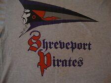 Vintage 90's SHREVEPORT PIRATES CFL Canadian Football League Rare T Shirt Sz XL