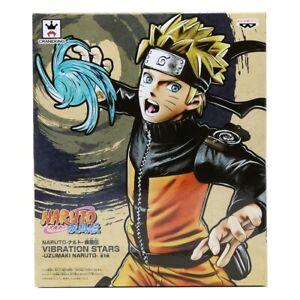 Details About Banpresto Naruto Shippuden Vibration Stars Naruto Uzumaki Figure