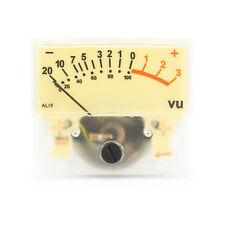 beleuchtet Sifam AL19R Retro Vintage VU-Meter