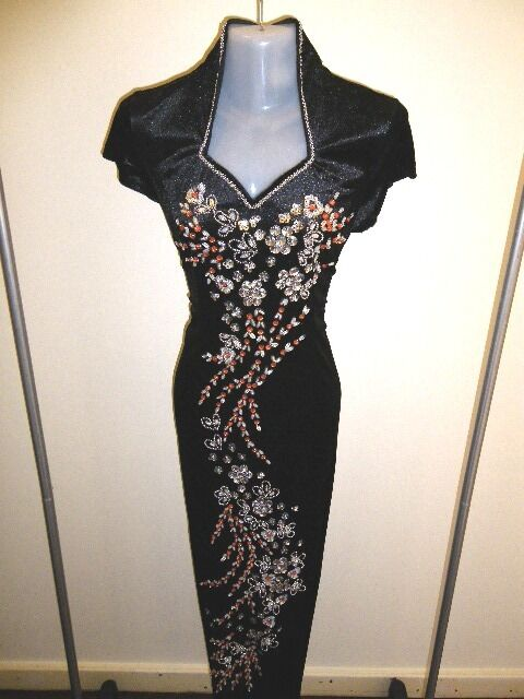 SALE  Size 12 (L)(D12-BOR) New Gown Prom Long Long Long Dress Party Formal with Sequins 0db6fd